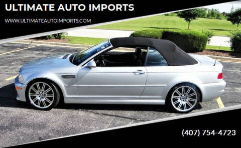 2003 BMW M3 for sale at ULTIMATE AUTO IMPORTS in Longwood FL