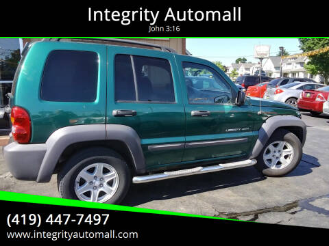 2003 Jeep Liberty for sale at Integrity Automall in Tiffin OH