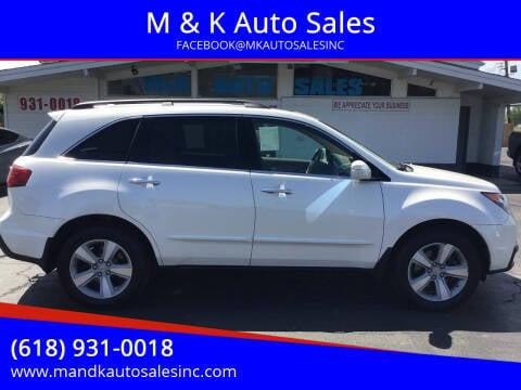2010 Acura MDX for sale at M & K Auto Sales in Granite City IL