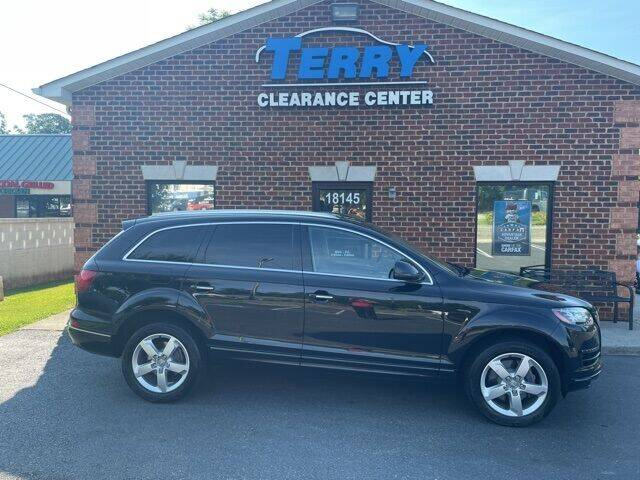 2015 Audi Q7 for sale at Terry Clearance Center in Lynchburg VA