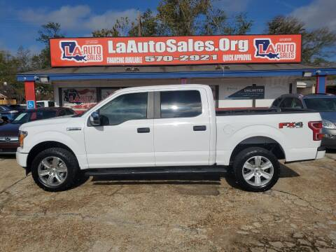 2018 Ford F-150 for sale at LA Auto Sales in Monroe LA