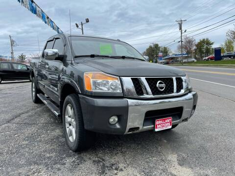 2012 Nissan Titan for sale at Brilliant Motors in Topsham ME