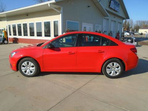 2014 Chevrolet Cruze for sale at Milaca Motors in Milaca MN