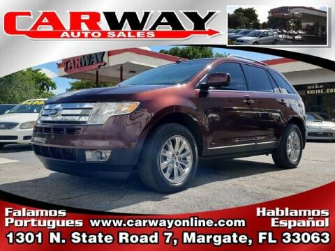 2009 Ford Edge for sale at CARWAY Auto Sales in Margate FL