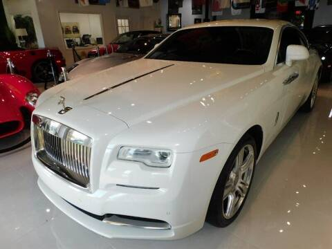 2015 Rolls-Royce Wraith for sale at Auto Sport Group in Delray Beach FL