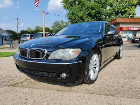 2007 BMW 7 Series for sale at Lamarina Auto Sales in Dearborn Heights MI