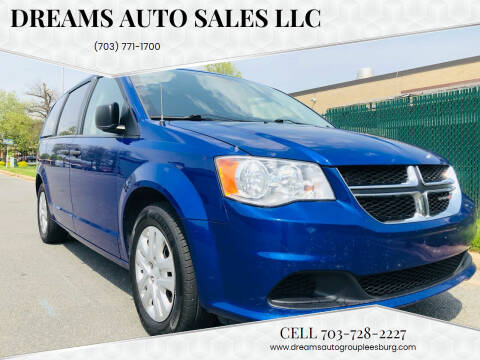 2019 Dodge Grand Caravan for sale at Dreams Auto Sales LLC in Leesburg VA