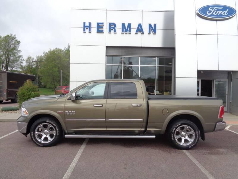 2015 RAM Ram Pickup 1500 for sale at Herman Motors in Luverne MN