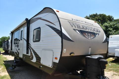 2015 Forest River Wildwood 27RKSS for sale at Buy Here Pay Here RV in Burleson TX