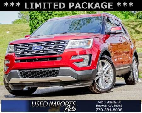 2016 Ford Explorer for sale at Used Imports Auto in Roswell GA