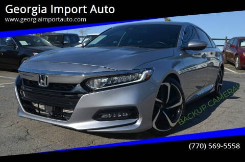 2019 Honda Accord for sale at Georgia Import Auto in Alpharetta GA