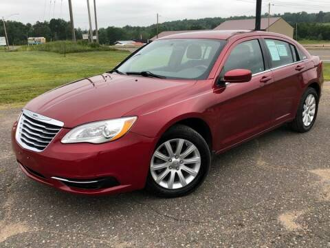 2013 Chrysler 200 for sale at STATELINE CHEVROLET BUICK GMC in Iron River MI
