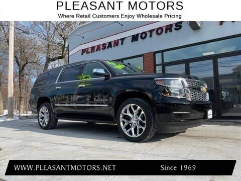 2020 Chevrolet Suburban for sale at Pleasant Motors in New Bedford MA