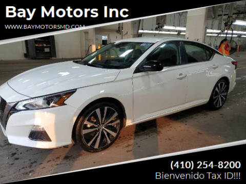 2020 Nissan Altima for sale at Bay Motors Inc in Baltimore MD