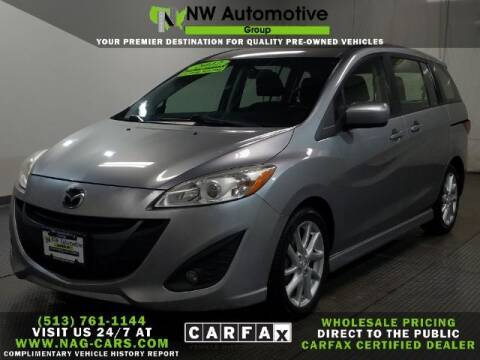 2012 Mazda MAZDA5 for sale at NW Automotive Group in Cincinnati OH