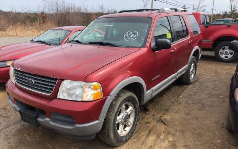 2002 Ford Explorer for sale at Classic Heaven Used Cars & Service in Brimfield MA