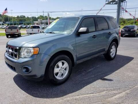 2012 Ford Escape for sale at Moores Auto Sales in Greeneville TN