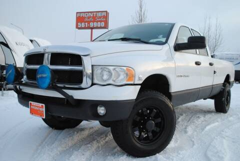 2005 Dodge Ram Pickup 2500 for sale at Frontier Auto & RV Sales in Anchorage AK