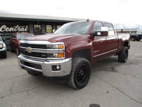 2016 Chevrolet Silverado 3500HD for sale at Central Auto in South Salt Lake UT