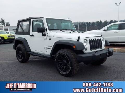 2015 Jeep Wrangler for sale at Jeff D'Ambrosio Auto Group in Downingtown PA