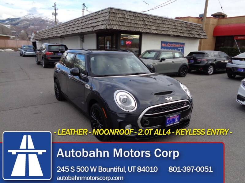 2017 MINI Clubman for sale at Autobahn Motors Corp in Bountiful UT