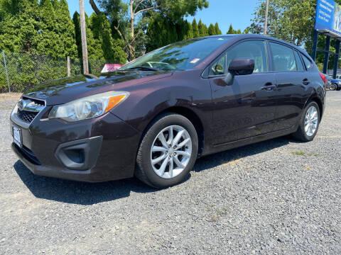 2013 Subaru Impreza for sale at Universal Auto Inc in Salem OR