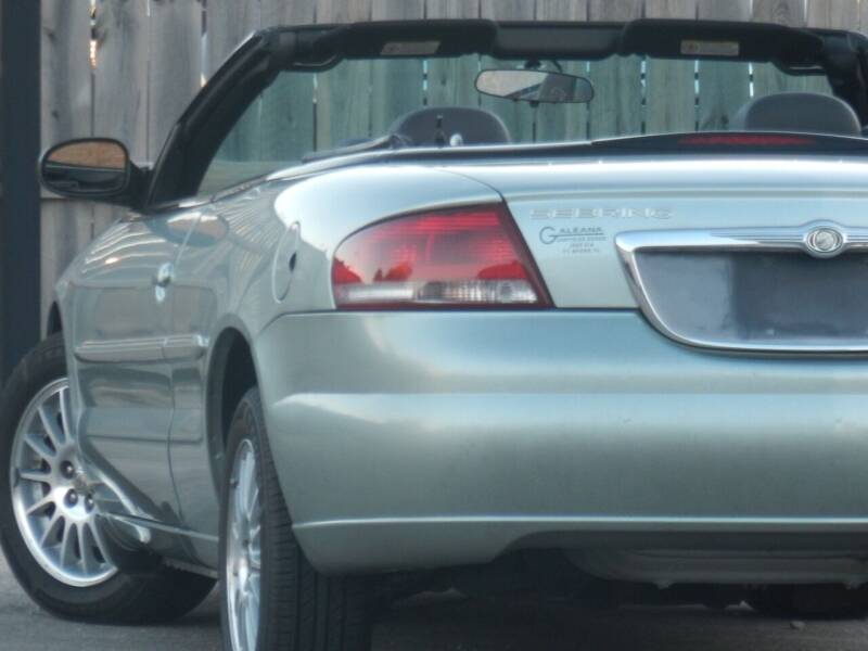 2004 Chrysler Sebring for sale at Moto Zone Inc in Melrose Park IL