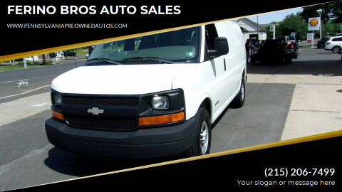 2004 Chevrolet Express Cargo for sale at FERINO BROS AUTO SALES in Wrightstown PA