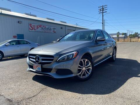 2015 Mercedes-Benz C-Class for sale at SUPER AUTO SALES STOCKTON in Stockton CA
