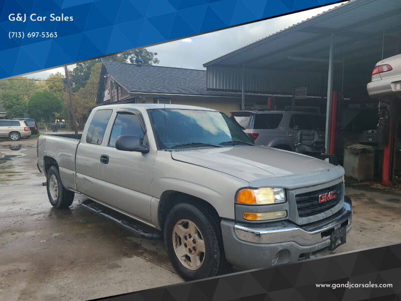 2006 GMC Sierra 1500 for sale at G&J Car Sales in Houston TX