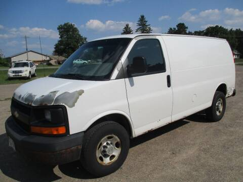 2009 Chevrolet Express Cargo for sale at D & T AUTO INC in Columbus MN