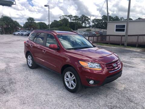 2011 Hyundai Santa Fe for sale at Friendly Finance Auto Sales in Port Richey FL