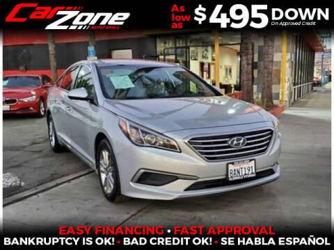 2017 Hyundai Sonata for sale at Carzone Automall in South Gate CA