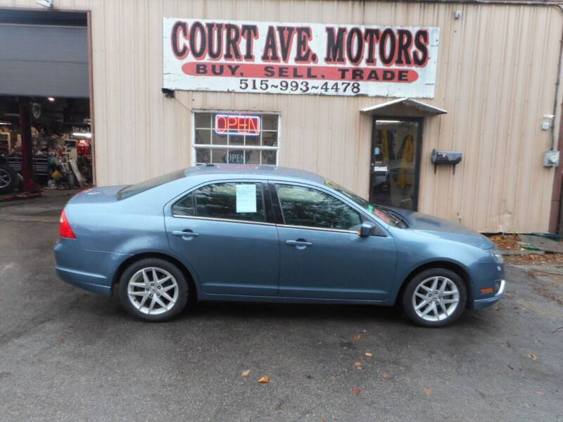 2012 Ford Fusion for sale at Court Avenue Motors in Adel IA