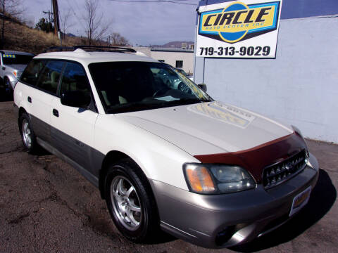 2004 Subaru Outback for sale at Circle Auto Center in Colorado Springs CO