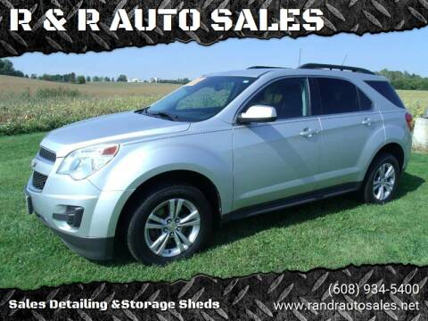 2012 Chevrolet Equinox for sale at R & R AUTO SALES in Juda WI