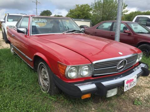 1981 Mercedes-Benz 380-Class for sale at Hi-Tech Automotive - Kyle in Kyle TX