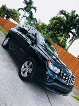 2016 Jeep Compass for sale at IRON CARS in Hollywood FL