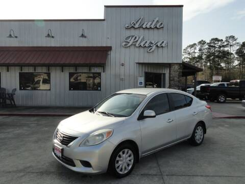 2012 Nissan Versa for sale at Grantz Auto Plaza LLC in Lumberton TX