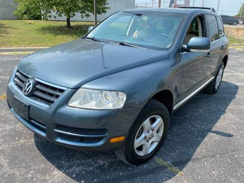 2004 Volkswagen Touareg for sale at Supreme Auto Gallery LLC in Kansas City MO