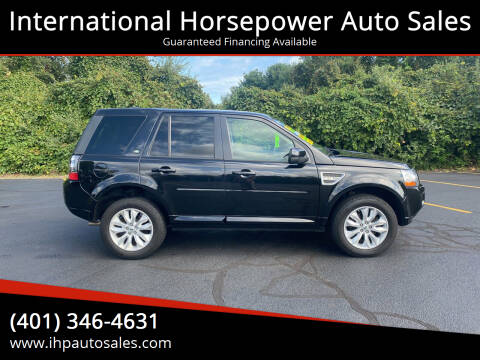 2013 Land Rover LR2 for sale at International Horsepower Auto Sales in Warwick RI