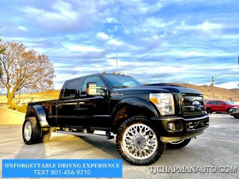 2015 Ford F-350 Super Duty for sale at TJ Chapman Auto in Salt Lake City UT