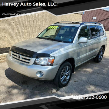 2005 Toyota Highlander for sale at Harvey Auto Sales, LLC. in Flint MI