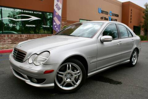 2002 Mercedes-Benz C-Class for sale at CK Motors in Murrieta CA