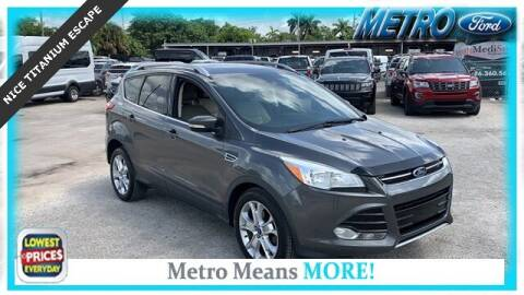 2015 Ford Escape for sale at Your First Vehicle in Miami FL