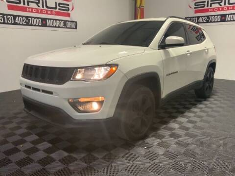 2017 Jeep Compass for sale at SIRIUS MOTORS INC in Monroe OH