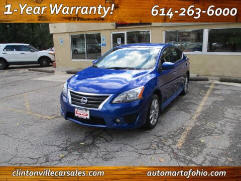 2014 Nissan Sentra for sale at Clintonville Car Sales - AutoMart of Ohio in Columbus OH