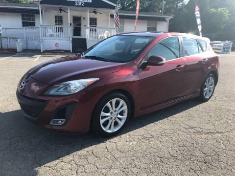 2010 Mazda MAZDA3 for sale at CVC AUTO SALES in Durham NC