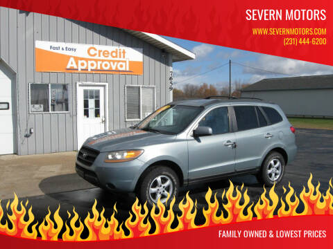 2008 Hyundai Santa Fe for sale at Severn Motors in Cadillac MI