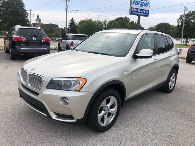 2012 BMW X3 for sale at Auto Target in O'Fallon MO
